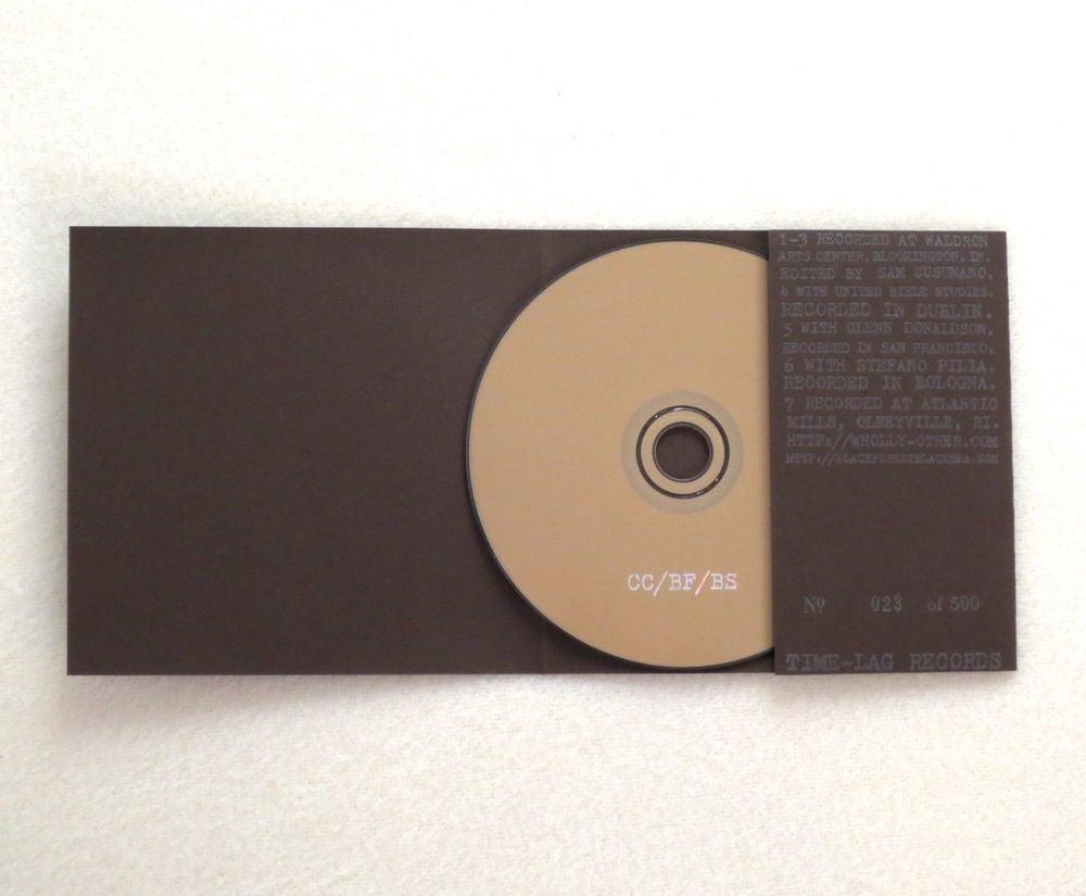 Image of CHRISTIINA CARTER / BLACK FOREST / BLACK SEA ~ UNTITLED ~ split cd (TIME-LAG 024)