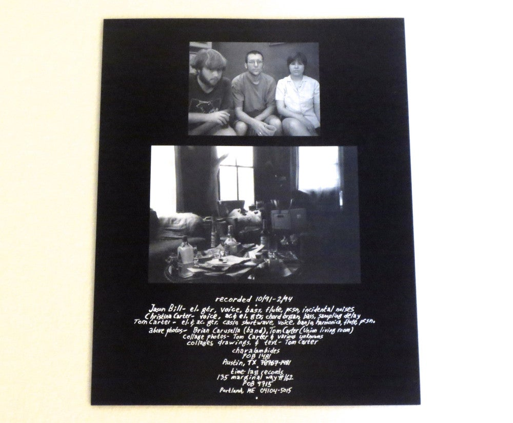 Image of CHARALAMBIDES ~ HISTORIC 6TH WARD ~ 2lp (TIME-LAG 003)