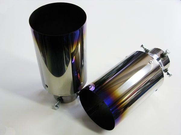 Image of Zele Performance Titanium Tail Muffler Cutter