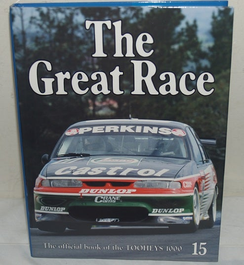 Image of Bathurst Great Race book 15. 1995