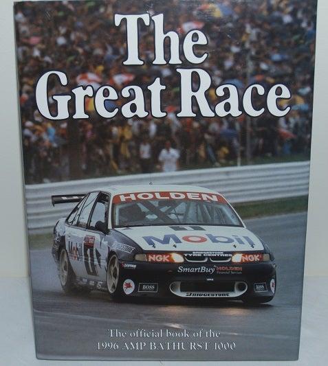 Image of BATHURST GREAT RACE BOOK. 1996 - LOWNDES/MURPHY WIN