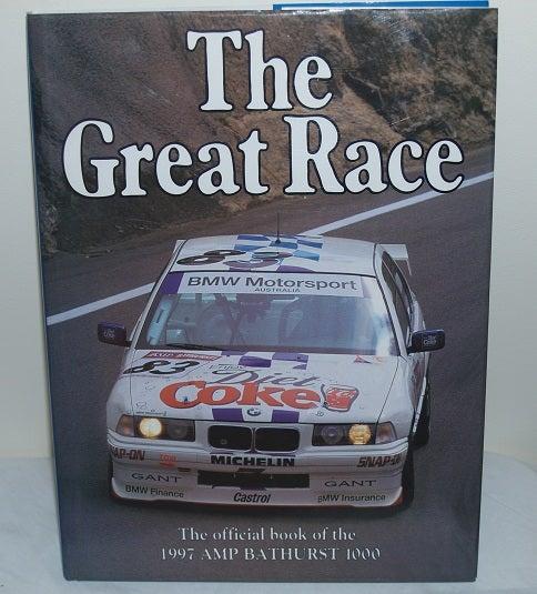 Image of BATHURST 1997 GREAT RACE BOOK # 17. AMP 1000. SUPER TOURERS