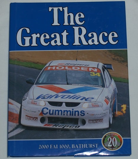 Image of BATHURST GREAT RACE # 20. 2000 FAI 1000.