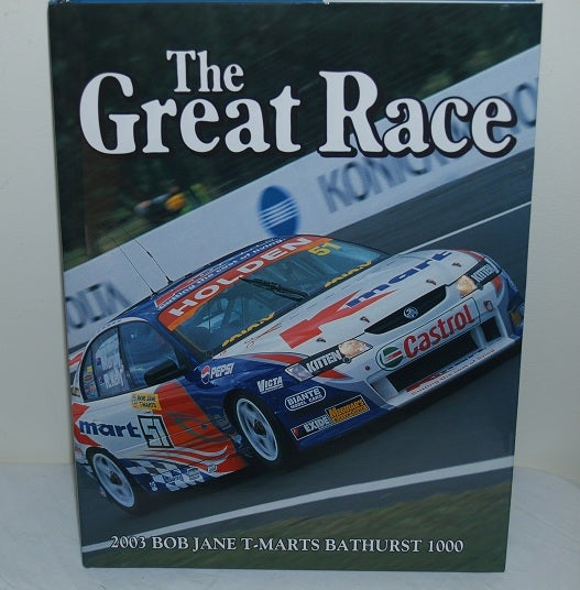 Image of Bathurst 2003 Great Race Book #23.