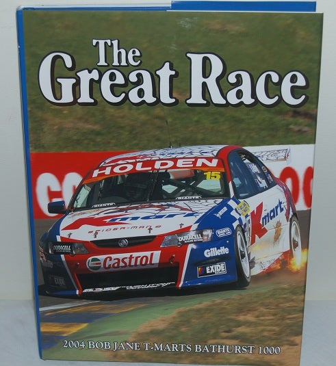 Image of Bathurst 2004 Great Race Book.