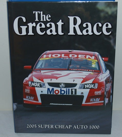 Image of Bathurst Great Race Book 2005. Holden - 7 wins in a row.