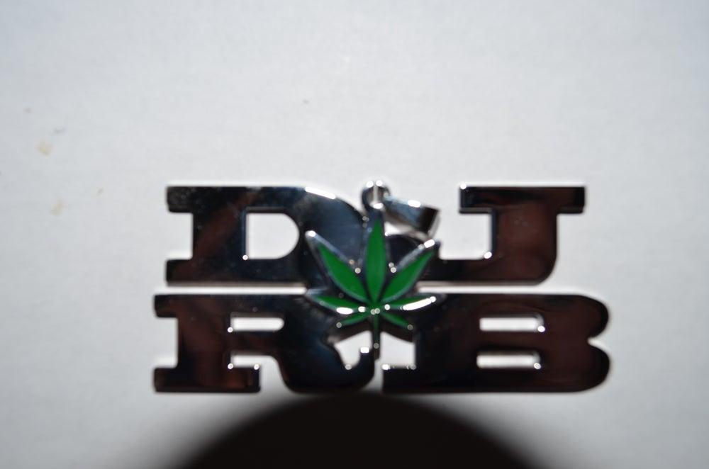 Image of Dj Ronnie Blaze Charm w/ free chain!!