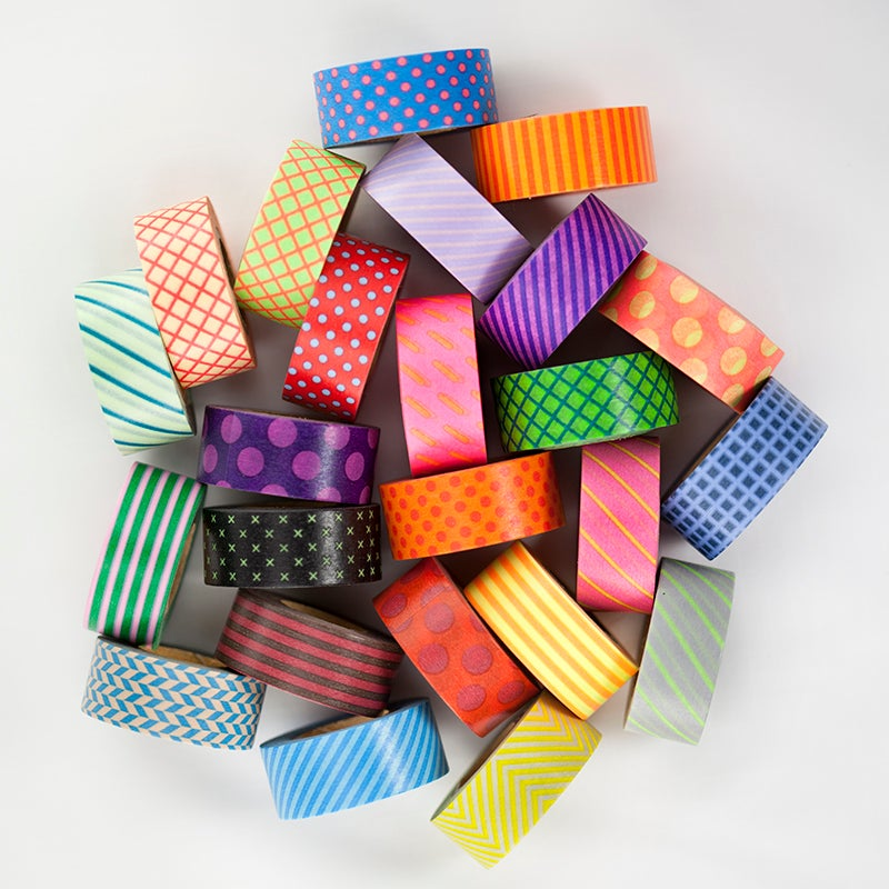 Image of Mini Maste Patterned Washi Tape