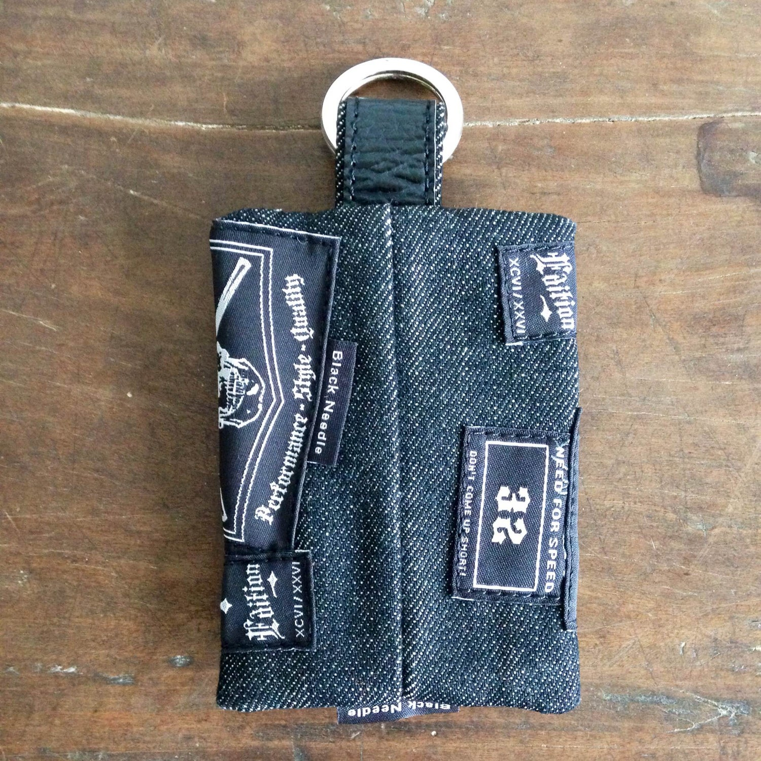 Image of FRISCO DENIM COIN WALLET