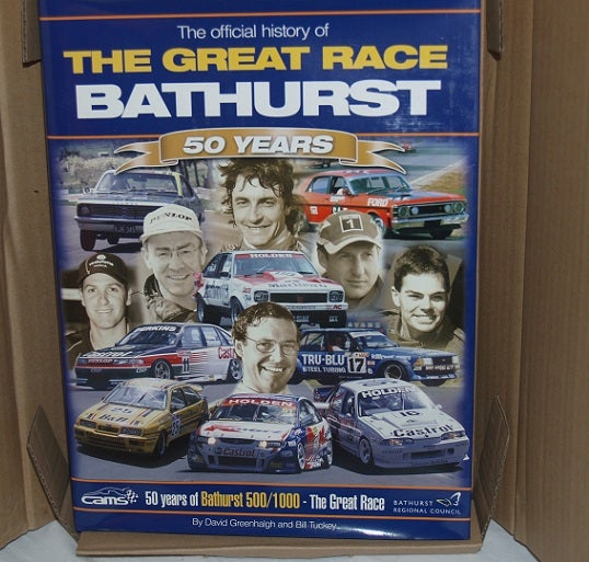 Image of Bathurst - The Great Race Book. 50 Years. New in box.