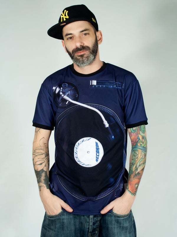 "Image of Unisex T-shirt ""PP Turntable"""