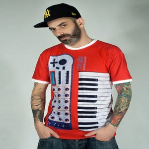 "Image of Unisex T-shirt ""Puss Modular"""