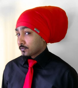 Image of Jah Roots Tube Hats (Red)