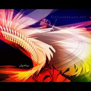 Image of  Day 7 of Flamenco February. Original & prints.