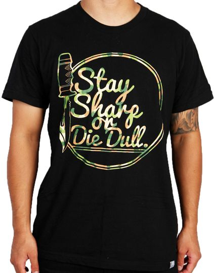 Image of Timeless Stay Sharp or Die Dull