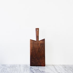 Image of walnut serving board | slim | small