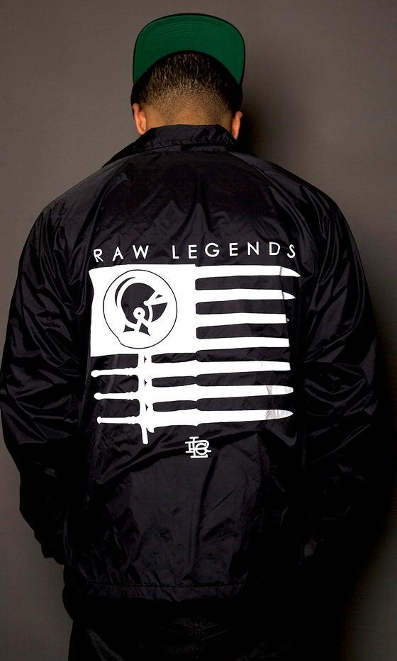 Image of American Legends Windbreaker Black