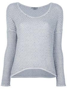 Image of HELUT LANG HELMUT helmet Lang Off White & Black Brushes Sweater