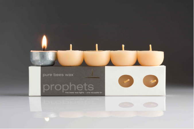 Image of Prophets | pure bees wax candles
