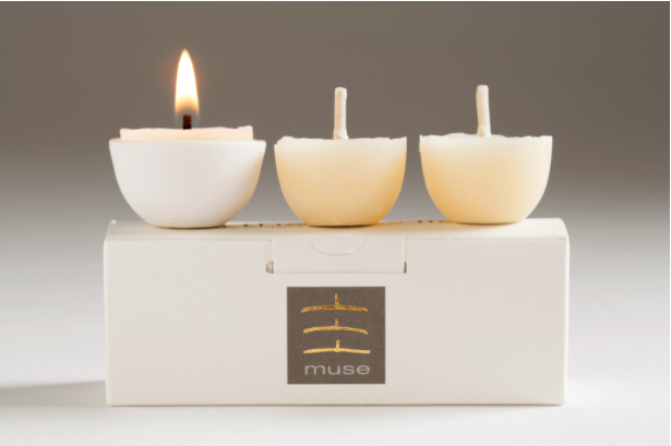 Image of Muse | pure bees wax tealights
