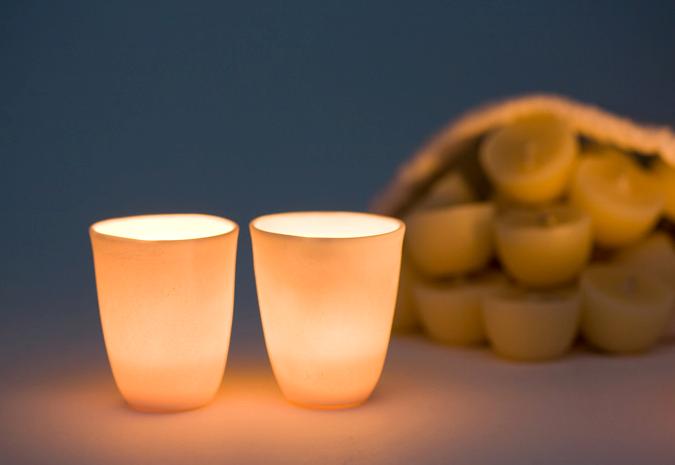 Image of Twinkerbelle   12 x pure bees wax tealights