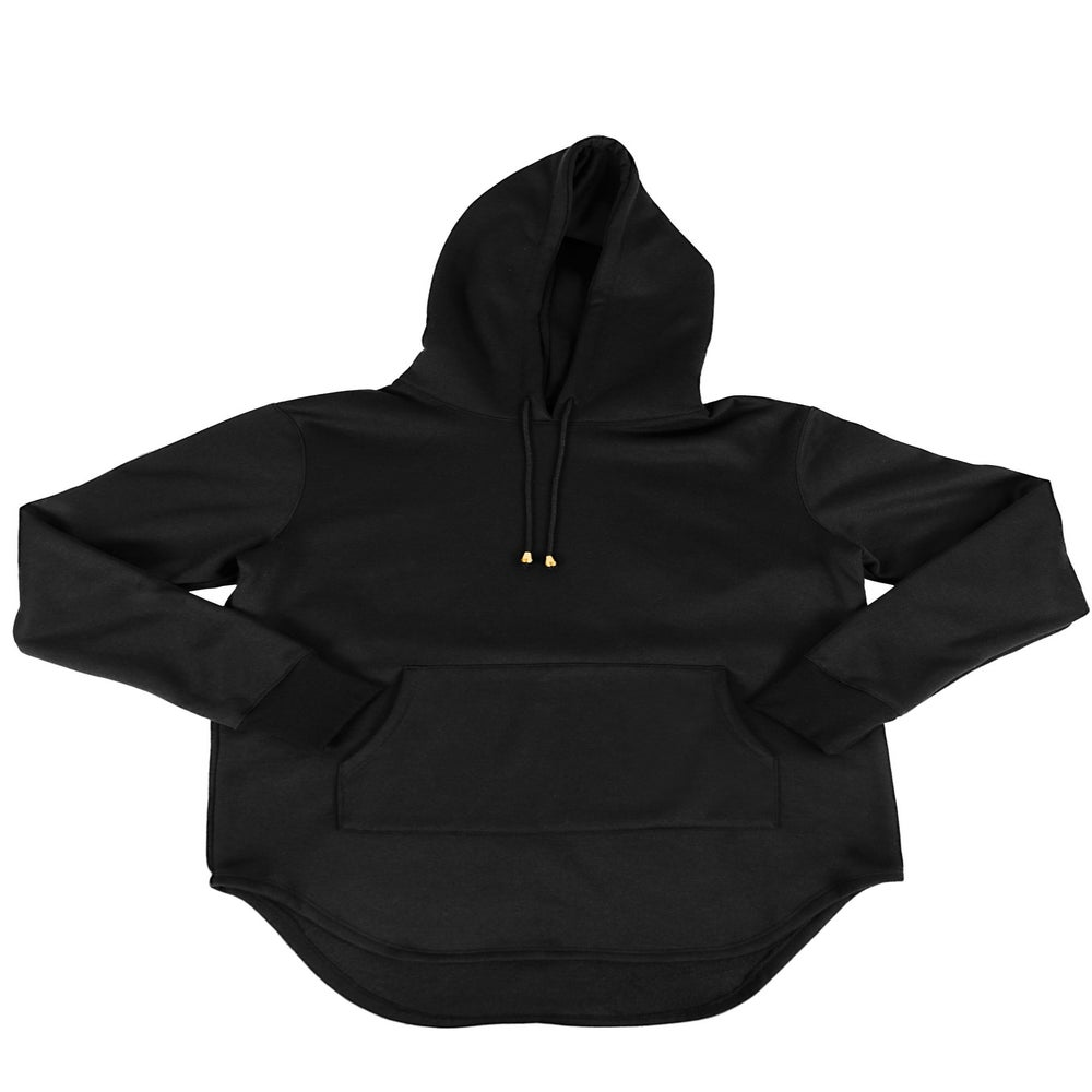 Image of Foxtail Hooded Tunic L/S noir