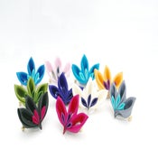 Image of Cluster Brooches - choose colour