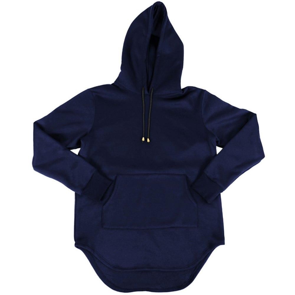 Image of Foxtail Hooded Tunic L/S Berry
