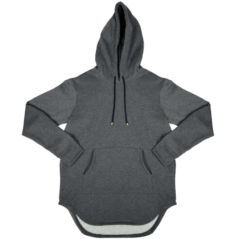 Image of Foxtail Hooded Tunic L/S ash
