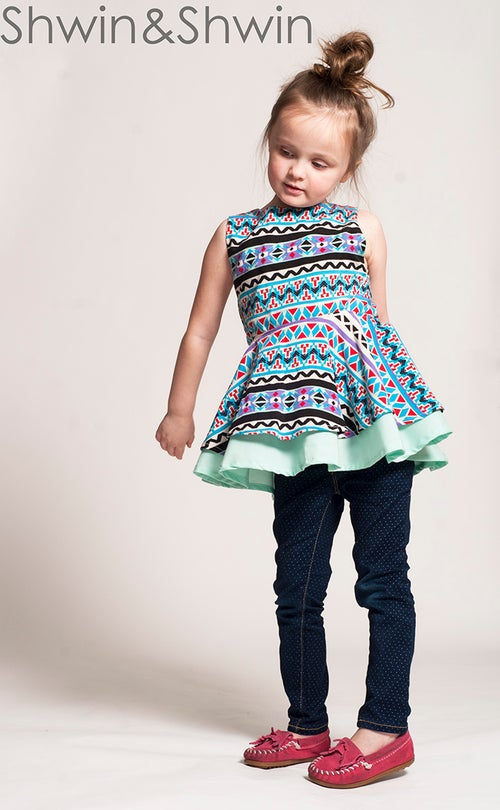 Image of Georgia Twirl Top/Dress
