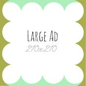 Image of Large Ad Sponsor Space - 3 Months