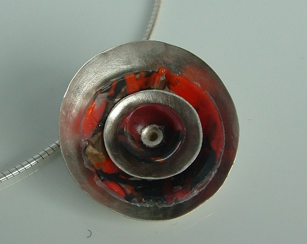 Image of Dome and silver pendants