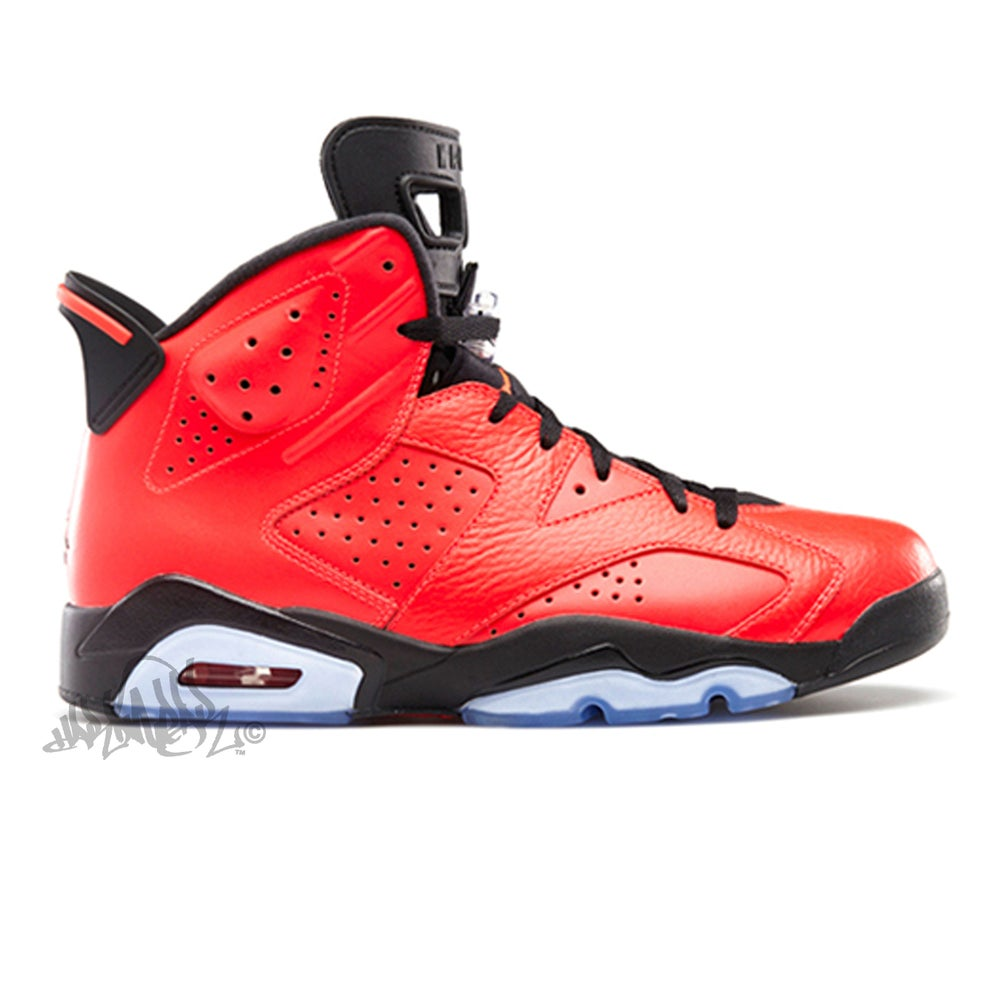 Image of AIR JORDAN 6 RETRO - INFRARED 23 - 384664 623