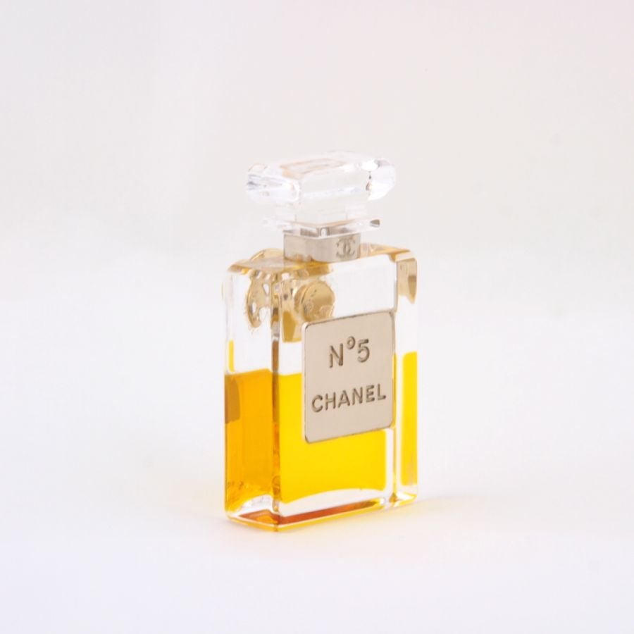 Image of SOLD OUT Authentic Vintage Chanel No. 5 Perfume Bottle Rare Brooch Pin