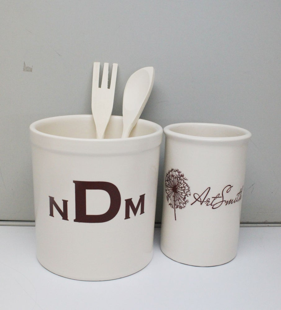 Image of Custom Utensil Holder