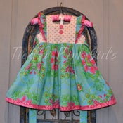 Image of Miss Molly Vintage Inspired Pinafore style dress