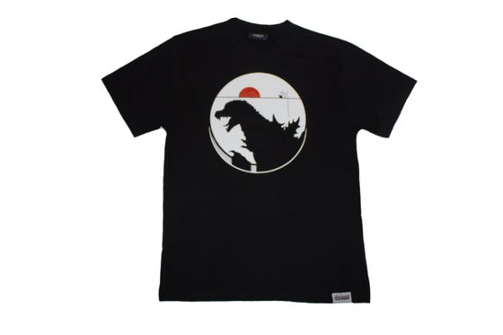 Image of Zilla Tee (Wht/Red)