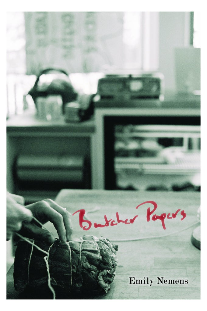 Image of Butcher Papers by Emily Nemens (DIGITAL CHAPBOOK)