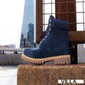 Image of Navy blue VILLA TIMBERLANDS