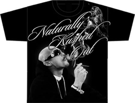 Image of Naturally Kushed Out Tee