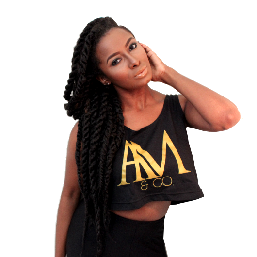 Image of AM & CO. CROP TOP