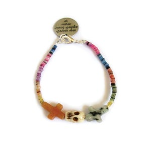Image of Crossed Lover Bracelet (Rainbow 1.0)