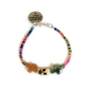Image of Crossed Lover Bracelet (Rainbow 2.0)