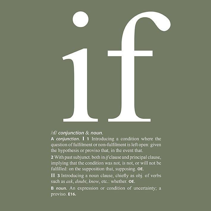 Image of If - mens