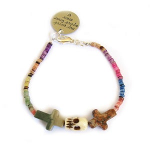 Image of Crossed Lover Bracelet (Rainbow 3.0)