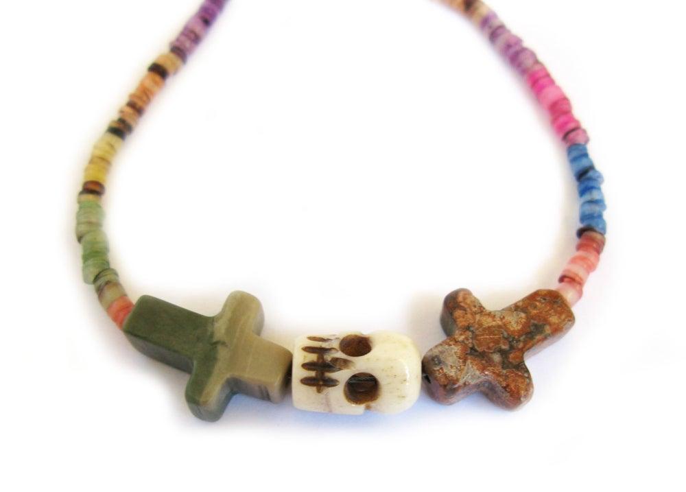 Image of Crossed Lover Bracelet (Rainbow 3.0)