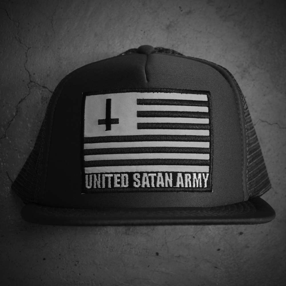 Image of GREY USA HAT