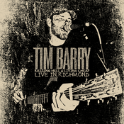 "Image of TIM BARRY ""Raising Hell & LIving Cheap, Live in Richmond"" CD. Out May 13, 2014"