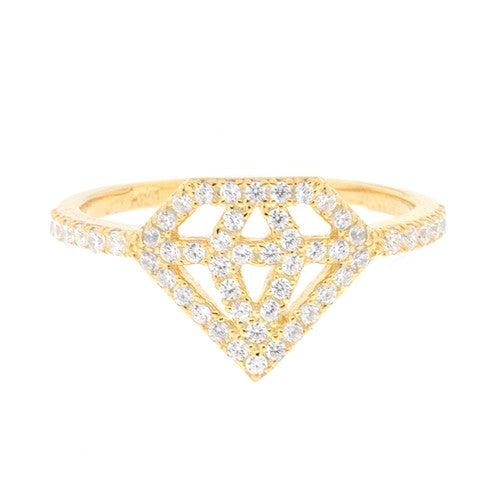 Image of Ladies Diamond Life Ring