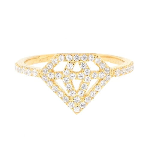 Image of Ladies Diamond Life Ring